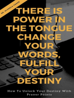 There is Power in the Tongue