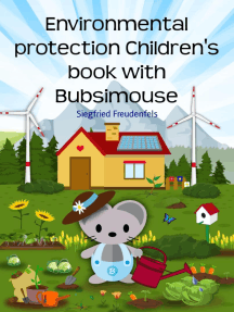 Environmental protection Children's book with Bubsimouse: Nature conservancy simply explained