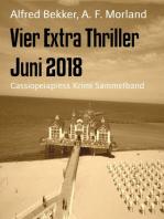 Vier Extra Thriller Juni 2018