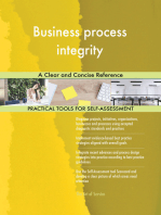 Business process integrity A Clear and Concise Reference