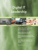Digital IT Leadership Standard Requirements