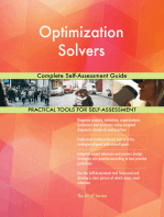 Optimization Solvers Complete Self-Assessment Guide