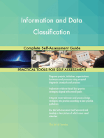 Information and Data Classification Complete Self-Assessment Guide
