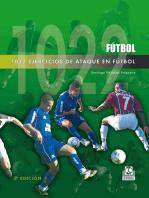1022 ejercicios de ataque en fútbol