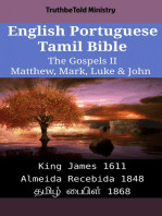 English Portuguese Tamil Bible - The Gospels II - Matthew, Mark, Luke & John