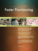 Faster Provisioning Standard Requirements