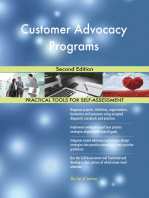 Customer Advocacy Programs Second Edition