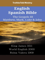 English Spanish Bible - The Gospels III - Matthew, Mark, Luke & John