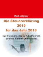Die Steuererklärung 2019 für das Jahr 2018