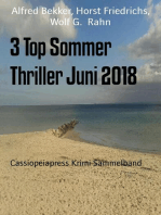 3 Top Sommer Thriller Juni 2018