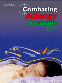Combating Allergy Naturally: Control & manage without medicine