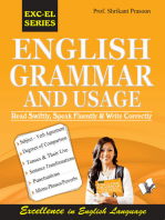 English Grammar And Usage: Read swiftly, speak fluently and write correctly