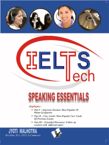 IELTS - Speaking Essentials (Book - 5): Ideas with probable questions that help score high in Speaking Module