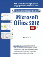 Microsoft Office 2010: Enhanced design in the 'ribbon' interface, _x000D_ 	Videos in PowerPoint, _x000D_ 	improved Outlook, _x000D_ 	Translation and screen capturing tools, _x000D_ 	Faster system resources, _x000D_ 	Share documents online in SkyDrive