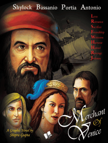 Merchant Of Venice: Shakesperean popular novel retold with graphics and colourful illistrations for children