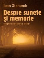 Despre sunete si memorie. Fragmente de istoria ideilor