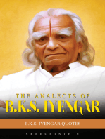 The Analects Of B.K.S. Iyengar
