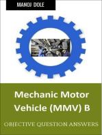 Mechanic Motor Vehicle B