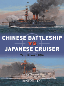 Chinese Battleship vs Japanese Cruiser: Yalu River 1894