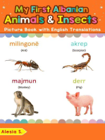 My First Albanian Animals & Insects Picture Book with English Translations
