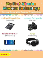 My First Albanian Modern Technology Picture Book with English Translations