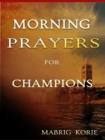 Morning Prayers for Champions