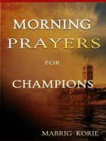 Morning Prayers for Champions