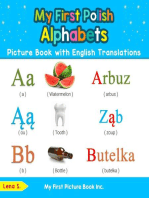 My First Polish Alphabets Picture Book with English Translations: Teach & Learn Basic Polish words for Children, #1