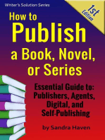 How to Publish a Book, Novel or Series