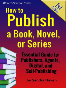 How to Publish a Book, Novel or Series: Writer's Solution Series, #1