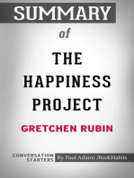 Summary of The Happiness Project