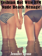 Lesbian Hot Wife FFM Nude Beach Menage