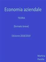 Economia Aziendale - Teoria (formato breve)
