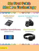 My First Polish Modern Technology Picture Book with English Translations