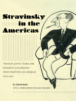 Stravinsky in the Americas: Transatlantic Tours and Domestic Excursions from Wartime Los Angeles (1925-1945)