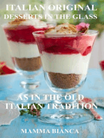 Mamma Bianca Italian Original Dessert in the Glass