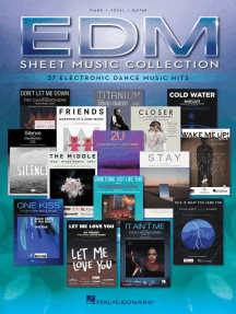 EDM Sheet Music Collection: 37 Electronic Dance Music Hits