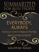 Everybody, Always - Summarized for Busy People