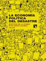La economía política del desastre