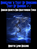 AabiLynn's Test Of Dragons, Test Of Swords #2 Dragon Hearts And Nightmarish Times