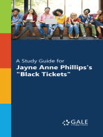 """A Study Guide for Jayne Anne Phillips's """"Black Tickets"""""""