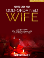 How To Know Your God-Ordained Wife
