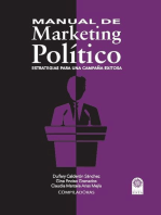 Manual de Marketing Político: Estrategias para una campaña exitosa