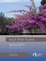 Adult Bible Studies Spring 2019 Teacher