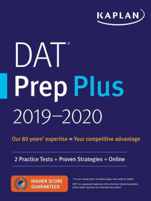DAT Prep Plus 2019-2020 by Kaplan Test Prep - Book - Read Online