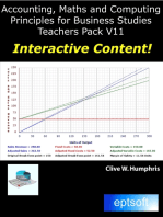 Accounting, Maths and Computing Principles for Business Studies Teachers Pack V11