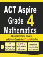 ACT Aspire Grade 4 Mathematics