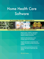 Home Health Care Software A Complete Guide - 2019 Edition