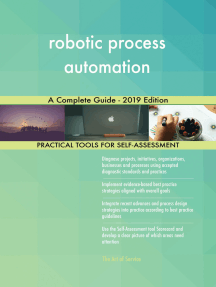 robotic process automation A Complete Guide - 2019 Edition