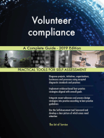 Volunteer compliance A Complete Guide - 2019 Edition
